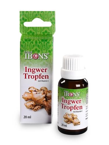 IBONS® Ingwer Tropfen mit Vitamin C