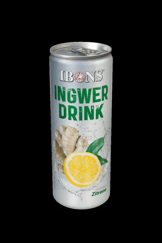IBONS® Ingwerdrink Dosen