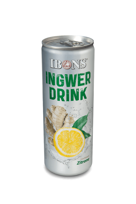 IBONS® Ingwer Drink mit Zitrone